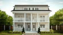 Traditional American House Duplex
