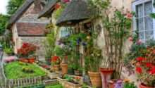 Traditional English Cottage Garden Pinterest