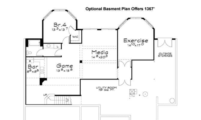 Traditional German House Design Plan Lower