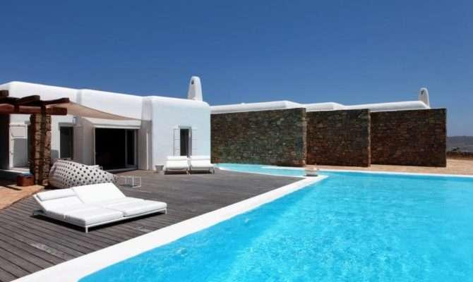 Traditional Greek House Mykonos Island Most Beautiful Houses