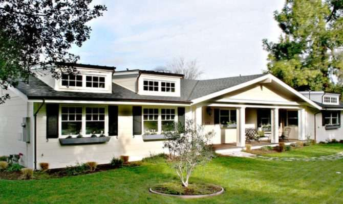Traditional Home Design Beautiful Ranch Style