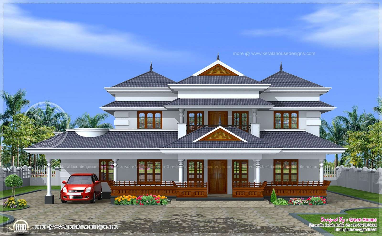 Traditional Home Kerala Design Floor Plans