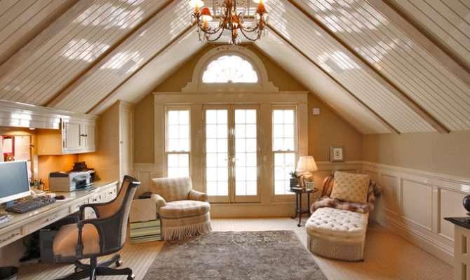 Traditional Home Office Joseph Matto Architects Llc