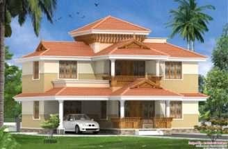 Traditional Malayalee Bhk Home Design