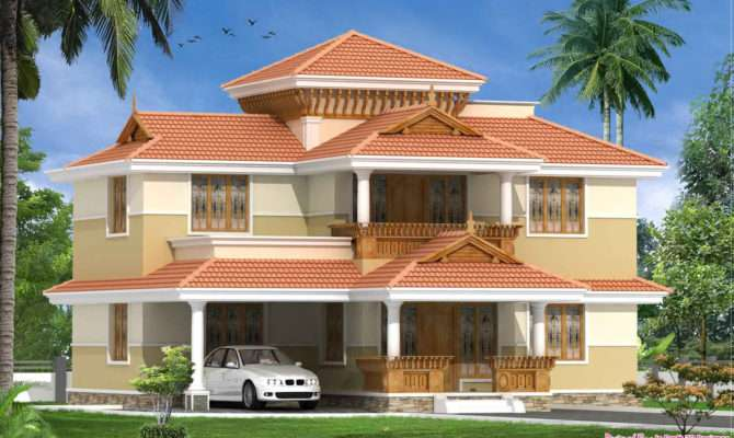 Traditional Malayalee Bhk Home Design