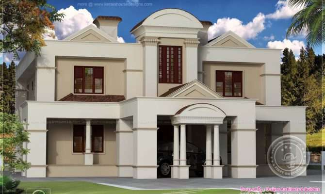 Traditional Old House Renovation Plan Colonial Style