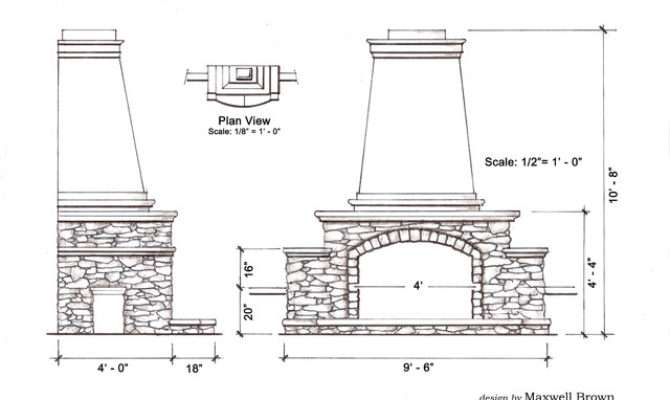 Traditional Outdoor Fireplace Exterior