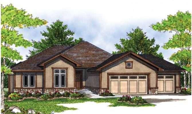 Traditional Ranch Open Floor Plan Hwbdo Prairie Style