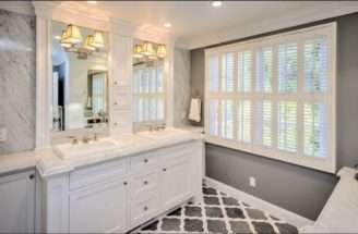 Traditional Style Gray Bathroom Dream Home Bathrooms Pinterest