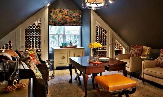 Traditional Wine Cellar Traci Zeller Designs