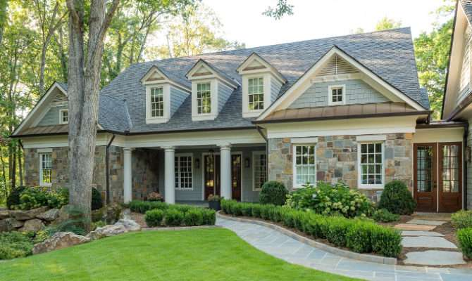 Transitional Cape Cod Style Home Bunch Interior