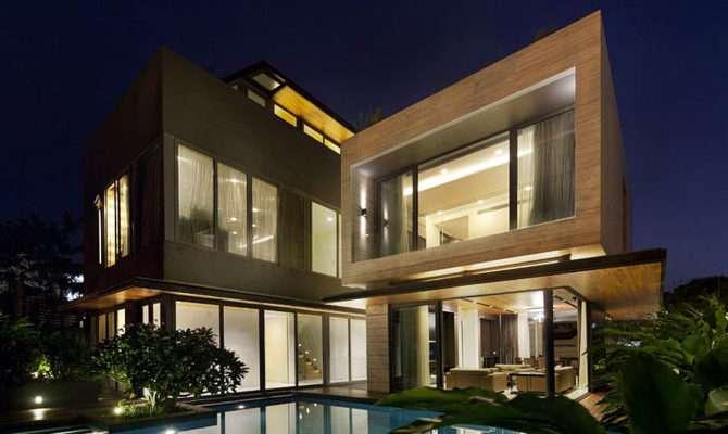 Travertine Dream House Wallflower Architecture Design