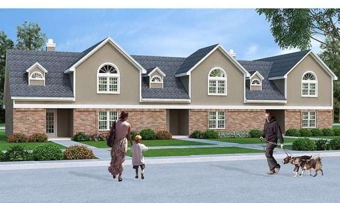 Triplex House Plans More Appealing Design