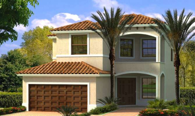 Tropical Hill Florida Home Plan House Plans More