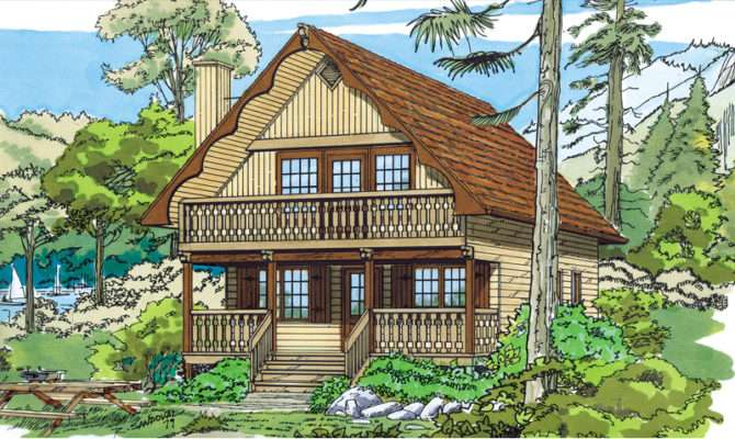 Trumbell Mountain Cottage Home Plan House Plans More