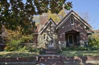 Tudor Revival Cottage Hinton Home Corinth Mississippi