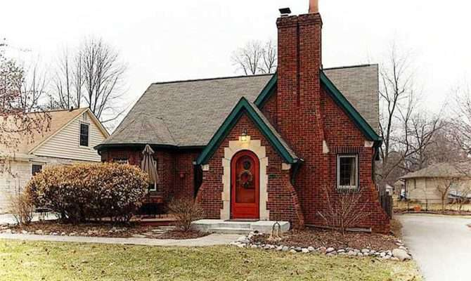 Tudor Revival Cottage Indianapolis Indiana Circa Old Houses