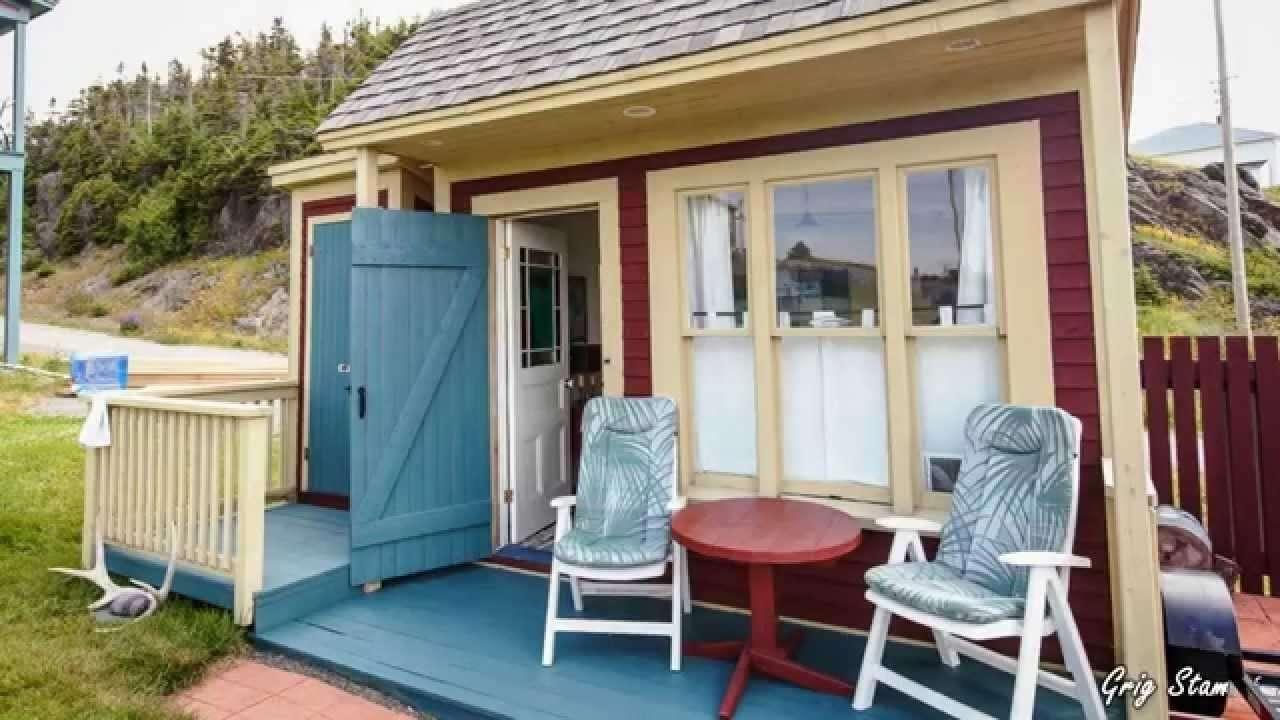 Turn Shed Tiny House Design Photos Cape Atlantic Decor