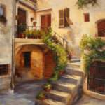 Tuscan Courtyard Deborah Bonuccelli