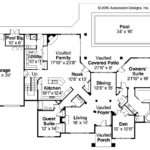 Tuscan House Plans Meridian Associated Designs