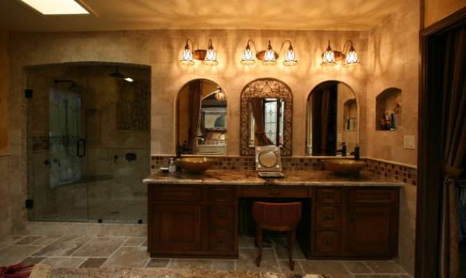 Tuscan Master Bath Traditional Bathroom Other Metro