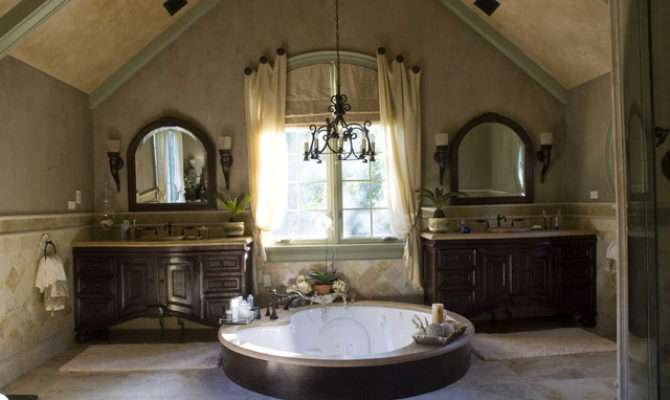 Tuscan Project Mediterranean Bathroom Chicago