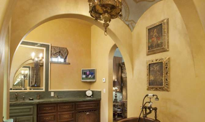 Tuscan Style Bathroom Designs Beautiful Photos