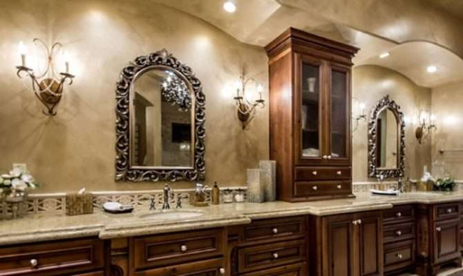 Tuscan Style Bathrooms