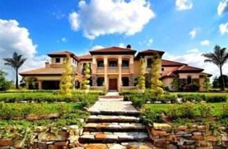 Tuscan Style Homes Tuscany Stylr Home Estate Award Winning