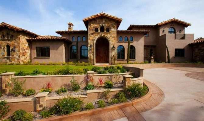Tuscan Style House Plans Courtyard Ideas
