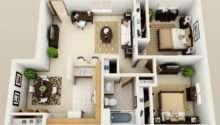 Two Bedroom Apartment Plan Floor Plans
