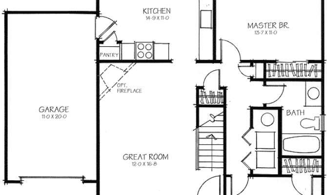 Two Bedroom Expandable Floor Master Suite