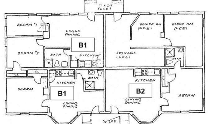 Two Bedroom House Plans Basement Best