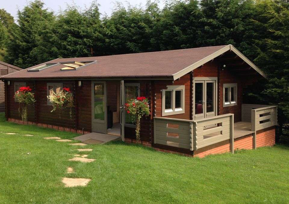 Two Bedroom Lodge Sandpiper Keops Interlock Log Cabins