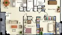 Two Master Suite Floor Plans Find House