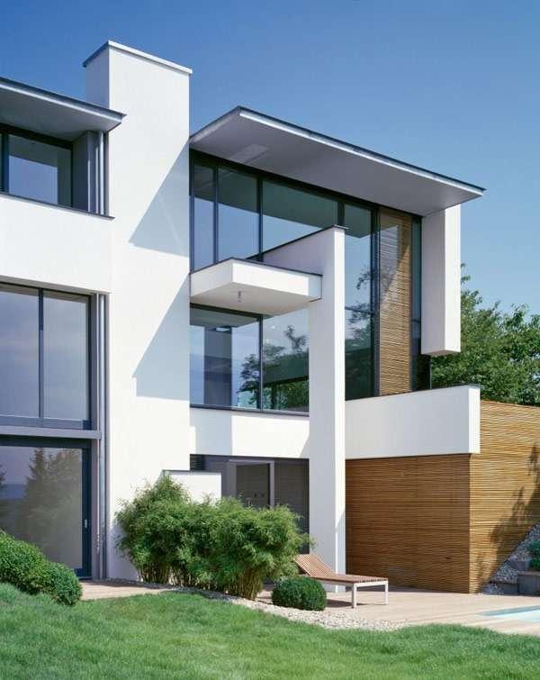 Two Modern Villas Hidden Single Facade Miki House