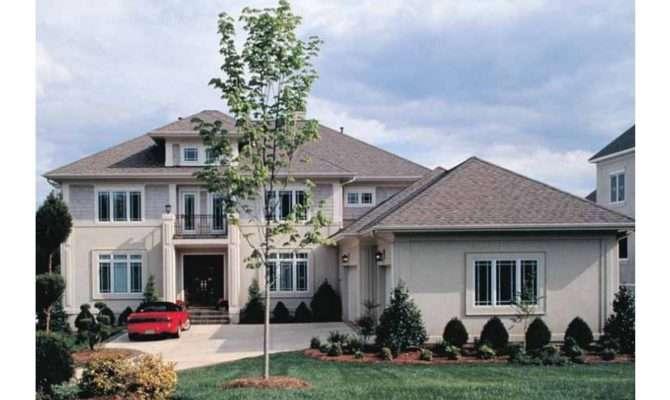 Two Sided Fireplace Hwbdo Prairie Style Builderhouseplans