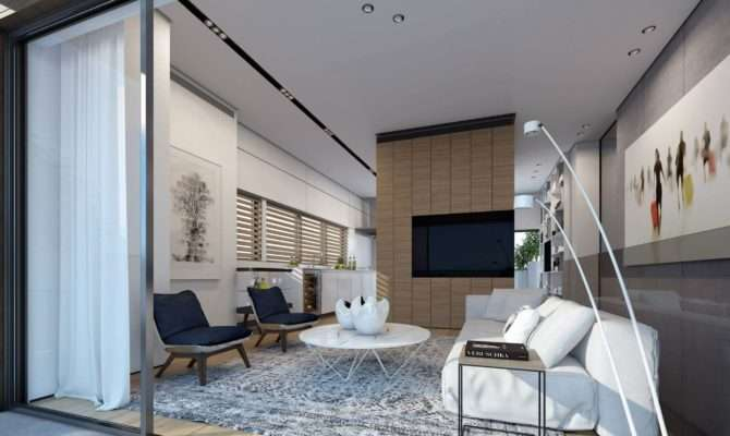 Two Storey Apartment Tel Aviv Ando Studio Caandesign