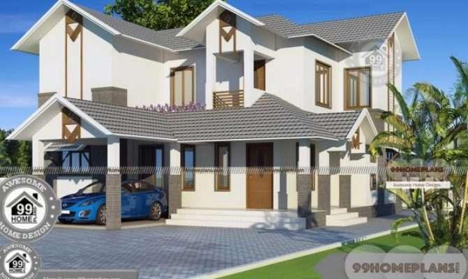 Two Storey Beach House Plans Spacious Balcony Railing