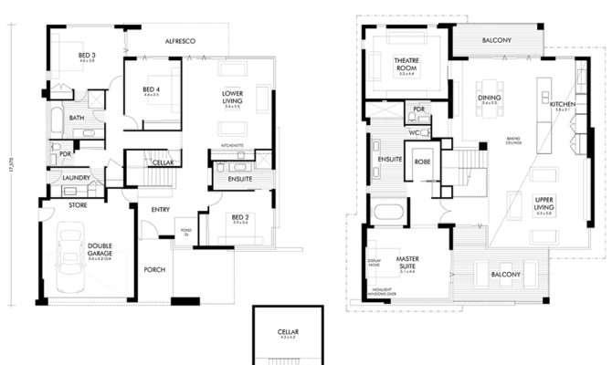 Two Storey Home Builders Perth Display Homes Webb Brown