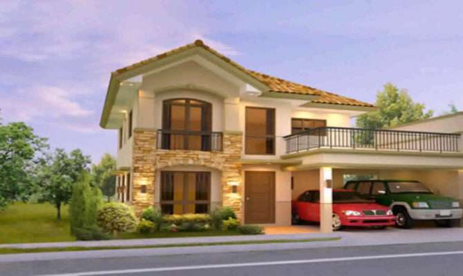Two Storey House Design Floor Plan Philippines Youtube