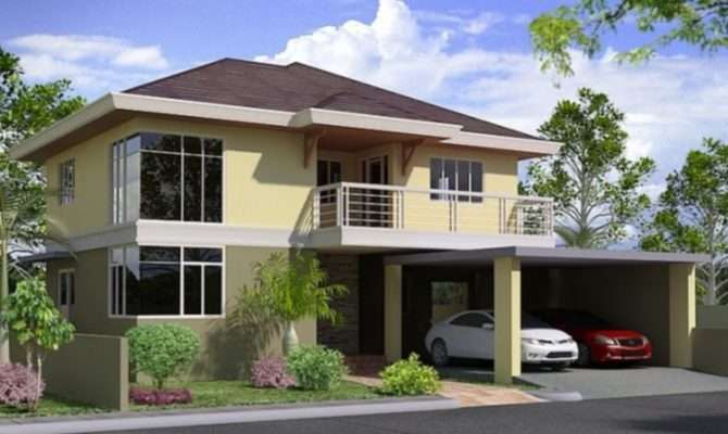 Two Storey House Plan Philippines Photoshop