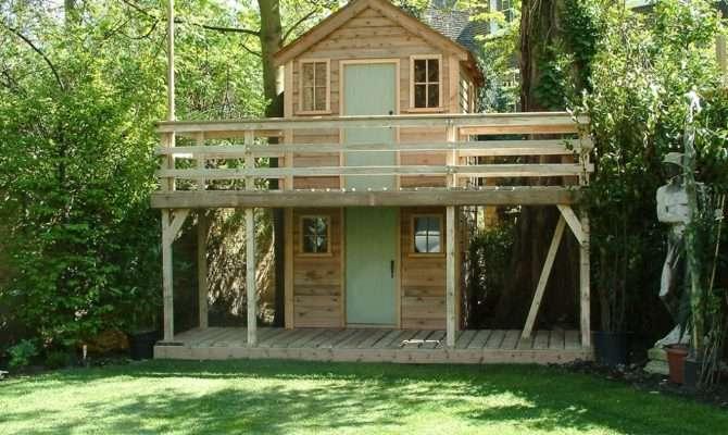 Two Storey Playhouse Bespoke Playhouses Treehouse Summerhouse