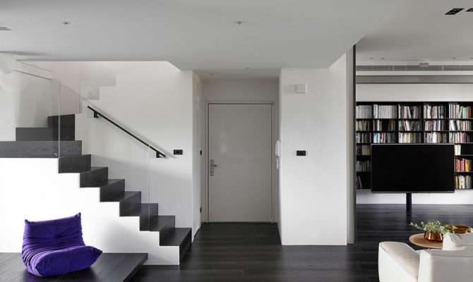 Two Story Apartment Taiwan Design Milk