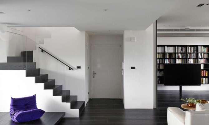 Two Story Apartment Taiwan Design Milk