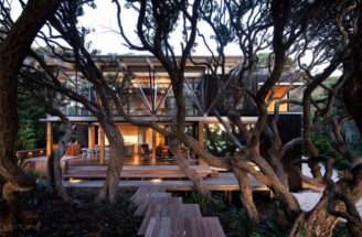 Two Story Beach House Exterior