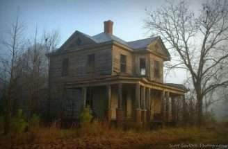 Two Story Home Old Farm Houses Pinterest