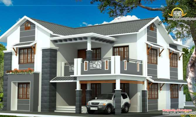 2 Storey House Plans With Balcony Ideas Photo Gallery