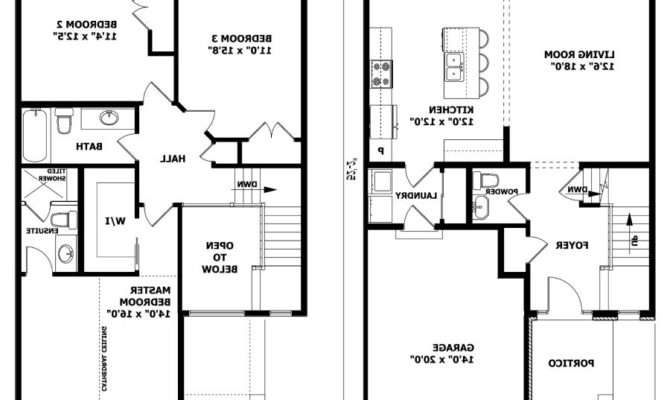 Two Story House Plans Photos