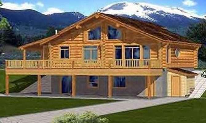 Two Story House Plans Walkout Basement